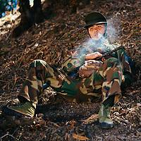 HSSU 20150409 TNLA kapinallisryhmä Shanin osavaltiossa, Myanmar. Kuva: Benjamin SuomelaKuva: Benjamin Suomela