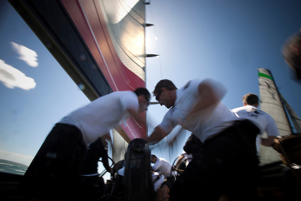 CLIENT: Mascalzone Latino Audi Team (Italy)<br /> DESCRIPTION: Official photographer for Italian America's Cup team