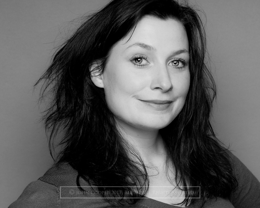 Headshot of actress Claire Knight, who plays Iona Mcintyre in BBC Scotland's 'River City'.