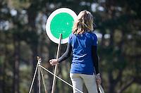 ZANDVOORT - Marshal, KLM OPEN golf 2015. COPYRIGHT KOEN SUYK