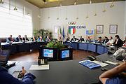 Conferenza stampa per la presentazione del campionato Under 20 che si terr&agrave; a Lignano Sabbiadoro<br /> Agenzia Ciamillo/Castoria