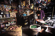 General store in Trongsa, Bumthang Valley, Bhutan. (Supporting image from the project Hungry Planet: What the World Eats.) Grocery stores, supermarkets, and hyper and megamarkets all have their roots in village market areas where farmers and vendors would converge once or twice a week to sell their produce and goods. In farming communities, just about everyone had something to trade or sell. Small markets are still the lifeblood of communities in the developing world.