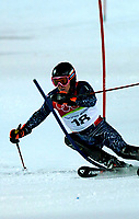 Photo: Catrine Gapper.<br /> Winter Olympics, Turin 2006. Alpine Skiing Men's Combined Slalom. 14/02/2006. Ligety Ted wins Gold in men's combined slalom.