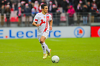 Gatean BELAUD  - 20.12.2014 - Brest / Ajaccio - 18eme journee de Ligue 2 -<br /> Photo : Vincent Michel / Icon Sport