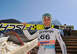 20.03.2014, Planica, Ratece, SLO, FIS Weltcup Ski Sprung, Planica, Qualifikation, im Bild Jernej Damjan // Jernej Damjan during the qualifikation of the mens individual large Hill of the FIS Ski jumping Worldcup Cup finals at Planica in Ratece, Slovenia on 2014/03/20. EXPA Pictures © 2014, PhotoCredit: EXPA/ Newspix/ Irek Dorozanski<br /> <br /> *****ATTENTION - for AUT, SLO, CRO, SRB, BIH, MAZ, TUR, SUI, SWE only*****