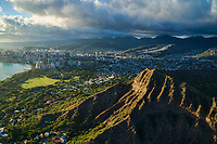 City of Honolulu & Diamond Head Crater