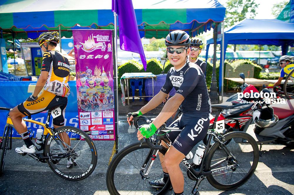 Tour of Thailand 2015/ Stage1/ Nakhon Ratchasima - Buri Ram/ Park Sung Baek/ KSPO