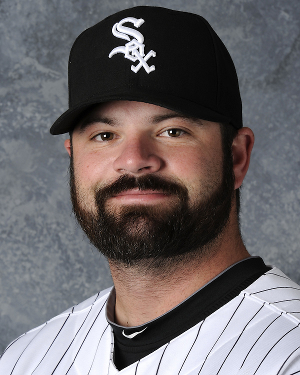 GLENDALE, AZ - FEBRUARY 26:  Brian Bruney of the Chicago White Sox poses for a portrait during photo day on February 26, 2011 at Camelback Ranch in Glendale, Arizona. (Photo by Ron Vesely)