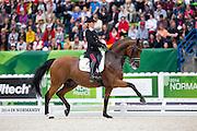 Valentina Truppa - Fixdesign Eremo del Castegno<br /> Alltech FEI World Equestrian Games™ 2014 - Normandy, France.<br /> © DigiShots
