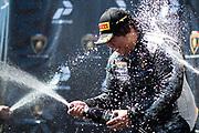 September 21-24, 2017: Lamborghini Super Trofeo at Laguna Seca. Yuki Harata, Dream Racing Motorsport, Lamborghini Las Vegas, Lamborghini Huracan LP620-2