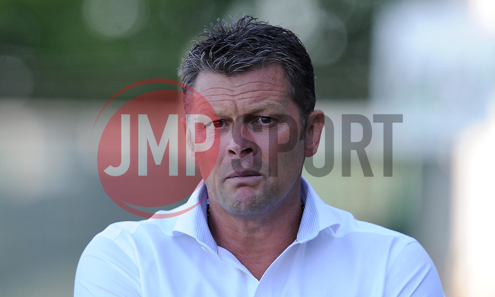 Bristol City's Manager Steve Cotterill - Photo mandatory by-line: Harry Trump/JMP - Mobile: 07966 386802 - 30/07/15 - SPORT - FOOTBALL - Pre Season Fixture - Yeovil Town v Bristol City - Huish Park, Yeovil, England.