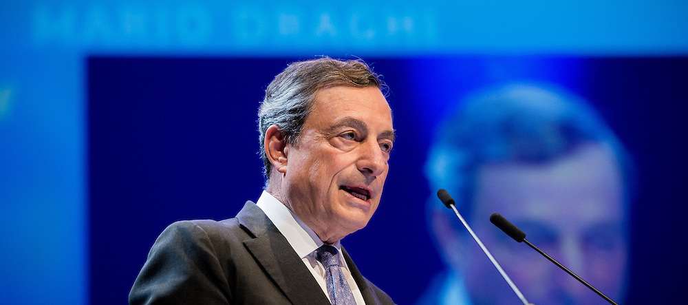 Brussels, Belgium 9 June 2016<br /> 5th Annual Tommaso Padoa-Schioppa Lecture by Mario Draghi, President of the ECB, at the Brussels Economic Forum 2016.<br /> Photo: European Commission / Ezequiel Scagnetti