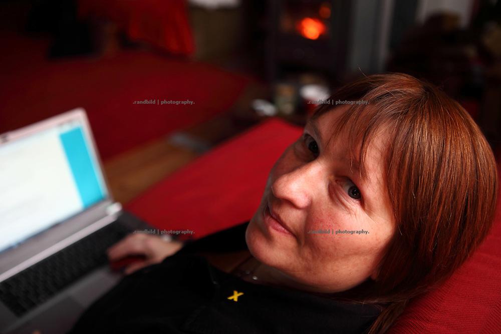 Kerstin Rudek, Vorsitzende der Bürgerinitiative Umweltschutz, wohnt an der Castorstrecke und arbeitet zur Zeit full time für den Widerstand.
