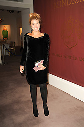 AMBER AIKENS at the Krug Mindshare auction held at Sotheby's, New Bond Street, London on 1st November 2010.