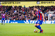 Crystal Palace #18 James McArthur during the Premier League match between Crystal Palace and Stoke City at Selhurst Park, London, England on 25 November 2017. Photo by Sebastian Frej.
