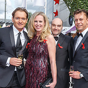 NLD/Amsterdam/20150530 - Amsterdamdiner 2015, Monique Collignon en Christian Looman, .............