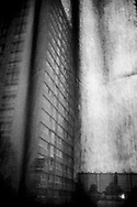 April 2015. Paris. A building trough my hostel room's window. Aubervilliers is one of the poorest neighbourhoods in Paris.