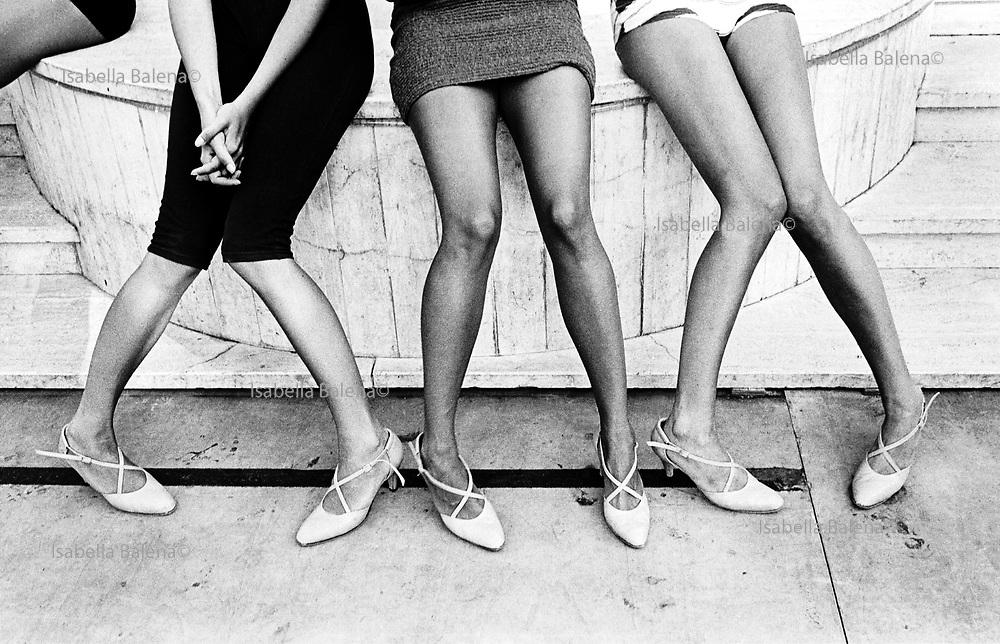 1995, Italia, Bellissima 95 contest, models, shoes