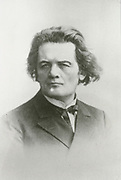 'Anton Grigorevich Rubinstein (1829-1894)  Russian pianist, composer, conductor and keyboard virtuoso. Founder of the St Petersburg Conservatory which opened in 1862.'