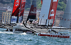17.04.2013, Neapel, ITA, Americas Cup World Series 2013, im Bild italiano Luna Rossa (ITA) // during Americas Cup World Series 2013 Napoli, Italy on 2013/04/17. EXPA Pictures © 2013, PhotoCredit: EXPA/ Insidefoto/ Matteo Ciambelli ***** ATTENTION - for AUT, SLO, CRO, SRB, BIH and SWE only *****