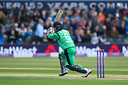 William Porterfield of Ireland batting during the One Day International match between England and Ireland at the Brightside County Ground, Bristol, United Kingdom on 5 May 2017. Photo by Graham Hunt.