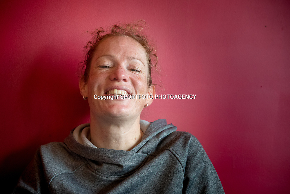 21-02-2018: Wielrennen: Persmoment KNWU WK Baan: Alkmaar<br /> Kirsten Wild hoopt dat er wat uit komt op het WK op haar thuisbaan in Apeldoorn