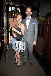 Emma Taylor and Patrick Grant at the relaunch party of No.11 - the hotel and Private members club, 11 Cadogan Gardens, London on 4th June 2009.