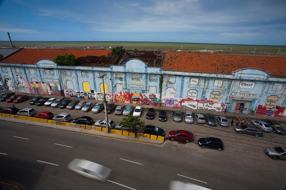 Recife_PE, Brasil..Teatro Armazem em Recife, Pernambuco..Armazem Theater at Recife, Pernambuco..Foto: JOAO MARCOS ROSA / NITRO