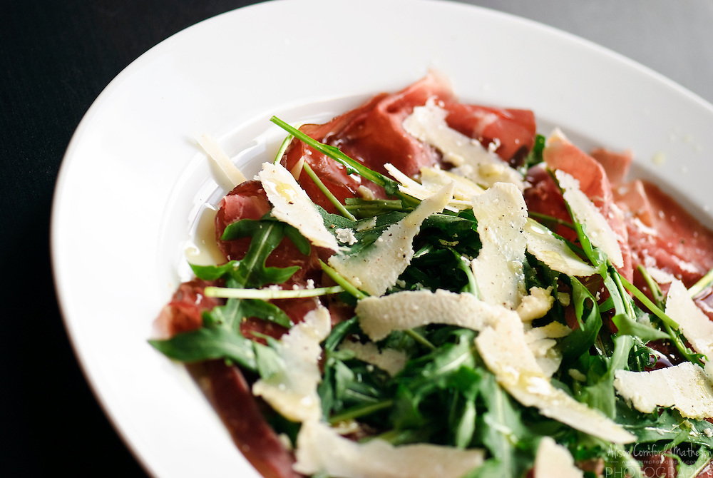 Beef Carpaccio is an Italian appetizer.