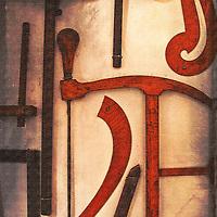 Old carpenters tools