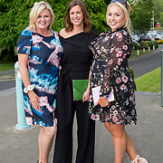 11.05. 2017.                                                 <br /> Over 20 leading Irish and international fashion media and influencers converged on Limerick for 24 hours on, Thursday, 11th May for a showcase of Limerick's fashion industry, culminating with Limerick School of Art & Design, LIT, presenting the LSAD 360° Fashion Show, sponsored by AIB.<br /> Pictured at the event were, Sharon Tucker, Sharons Secrets, Laura Ryan, Limerick City and County Council and Sinead O'Brien, Sineads Curvy Style. Picture: Alan Place