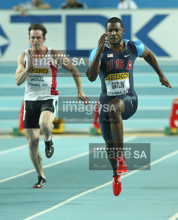 ISTANBUL, TURKEY: Friday 9 March 2012,  during the evening session of Day 1 at the IAAF World Indoor Championships being held at the Atakoy Athletics Arena in Istanbul..Photo by Roger Sedres/ImageSA
