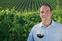 Mirko Gosnach of Frontier Wines in Tuscany, Italy.