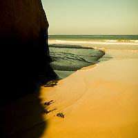 A Sandy beach