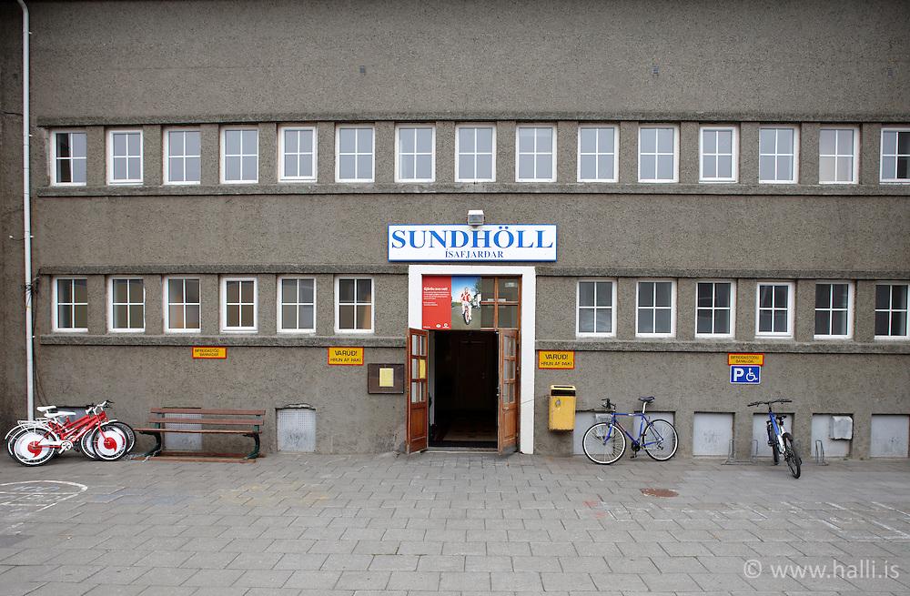 Swimming pool at Isafjordur, Iceland - Sundlaugin á Ísafirði
