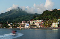Ville de Saint Pierre, Saint-Pierre City, Martinique, France