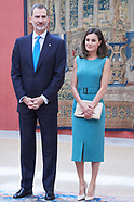 062619 Spanish Royals attends meeting with the members of the Patronages of the Princess of Asturias