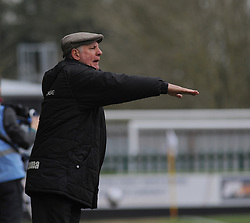 Braintree Town Manager, Alan Devonshire- Photo mandatory by-line: Nizaam Jones - Mobile: 07966 386802 - 14/03/2015 - SPORT - Football - Nailsworth - The New Lawn - Forest Green Rovers v Braintree  - Vanarama Football Conference.