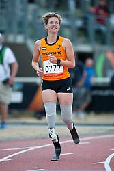 van RHIJN Marlou, NED, 100m, T54, 2013 IPC Athletics World Championships, Lyon, France