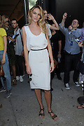Sept. 7, 2014 - New York, NY, USA - <br /> <br /> Diane Von Furstenberg Fashion Show<br /> <br /> Candice Swanepoel attending Diane Von Furstenberg fashion show during Mercedes-Benz Fashion Week Spring 2015 at Spring Studios on September 7, 2014 in New York City<br /> ©Exclusivepix