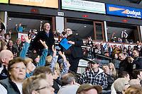 KELOWNA, CANADA, JANUARY 4: Spokane Chiefs visit the Kelowna Rockets on January 4, 2012 at Prospera Place in Kelowna, British Columbia, Canada (Photo by Marissa Baecker/Getty Images) *** Local Caption ***
