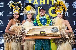 Gabriel Medina (BRA) Winner of the Tahiti Pro 2018 ,Teahupoo, French Polynesia