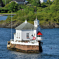 Dyna Light in Oslo Fjord near Oslo, Norway <br />