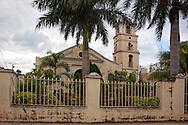 Church in Mayari, Holguin, Cuba.