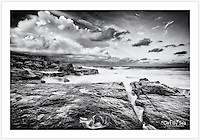 Late on a stormy autumn afternoon near Mahon Pool, Jack Vanny Memorial Park [Maroubra, NSW, Australia]<br />