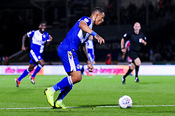 Jonson Clarke-Harris of Bristol Rovers has a shot on goal - Mandatory by-line: Ryan Hiscott/JMP - 17/09/2019 - FOOTBALL - Memorial Stadium - Bristol, England - Bristol Rovers v Gillingham - Sky Bet League One