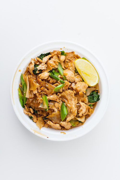 "Chicken Pad Se Ew from Kiin Thai (P$FREE) - ""Bomb"" Snowstorm"