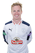 Hampshire wicket keeper-batsman Adam Wheater in the 2016 Specsavers County Championship Shirt. Hampshire CCC Headshots 2016 at the Ageas Bowl, Southampton, United Kingdom on 7 April 2016. Photo by David Vokes.