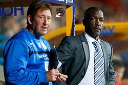 Manager Chris Powell of Huddersfield - Photo mandatory by-line: Rogan Thomson/JMP - 07966 386802 - 16/09/2014 - SPORT - FOOTBALL - Huddersfield, England - The John Smith's Stadium - Huddersfield Town v Wigan Athletic - Sky Bet Championship.