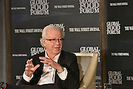 Randall K. Fields, CEO, ReposiTrak, Inc., Chairman and CEO, Park City Group, Inc.,  at the The Wall Street Journal 2016 GLOBAL FOOD FORUM in New York City on October 6, 2016. (photo by Gabe Palacio)